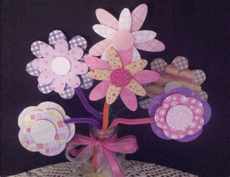printable paper flowers printable flower vase template