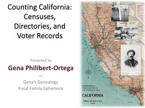 California Voting Records Legacy Family Tree Webinars