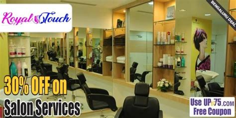 salon coupons chennai royal touch salon bengaluru salon coupons deals offers