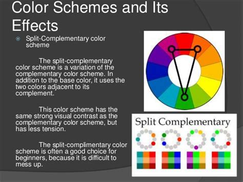 amazing Split Complementary Color Scheme #3: lesson-10-a-understanding-color-9-638.jpg?cb=1472626986