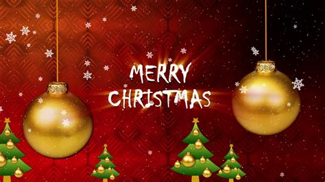 merry christmas greeting video  youtube