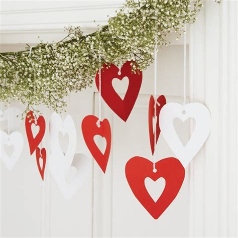 heart decorations home heart garland how to make christmas decorations