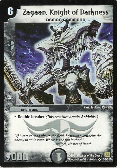 duel with a demoness books zagaan of darkness duel masters wiki