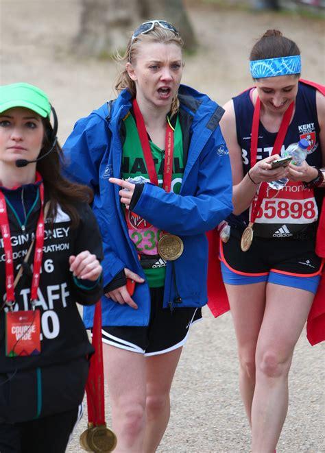 Natalie Dormer Marathon Trands Natalie Dormer At The Money