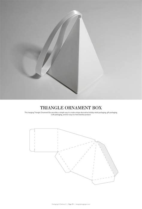triangle packaging template packaging dielines 2 a free resource packaging design