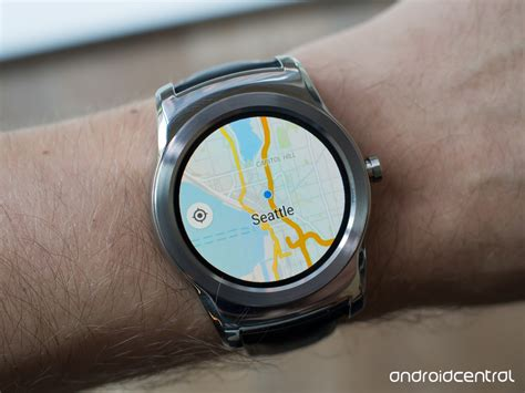 new android wear proper maps app appears on android wear via phone app update android central