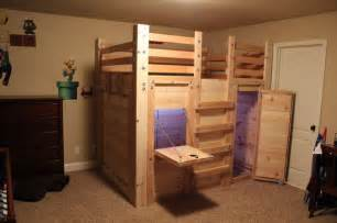 Toddler Bed Size In Ft The Bed Fort Opened Up Built From Loft Bed Plans
