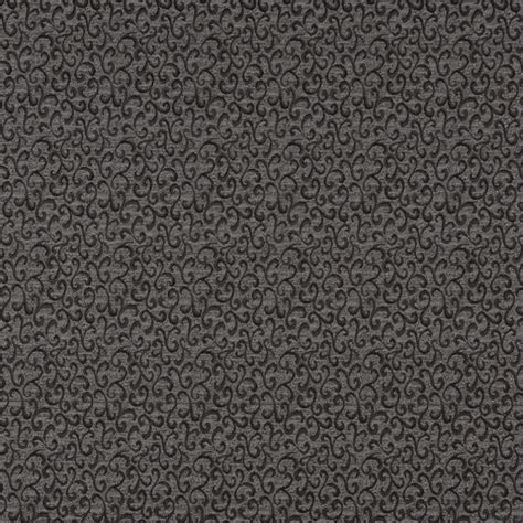 black and grey upholstery fabric black and grey abstract scrolls contract grade upholstery
