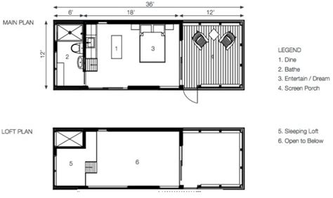 bunkie house plans 288 sq ft solo 24 bunkie modern prefab tiny home