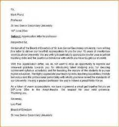 Thank You Letter To Professor For Scholarship 11 Thank You Letter To Professor Academic Resume Template