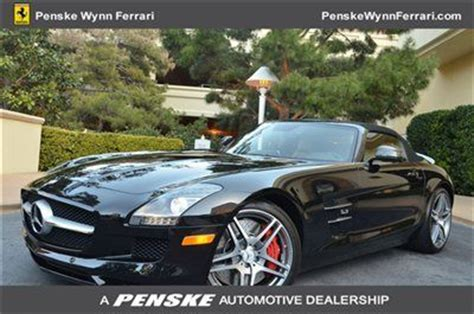 sell new 2012 mercedes benz sls amg roadster as new penske