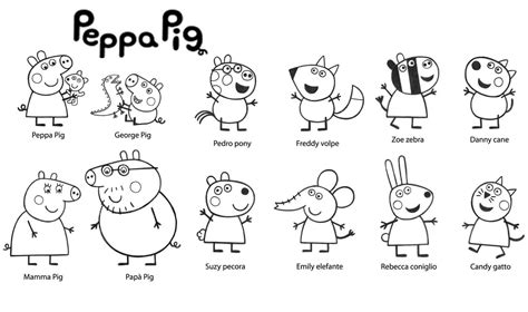 peppa pig coloring pages danny dog 30 printable peppa pig coloring pages you won t find anywhere