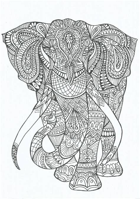 elephant zentangle tattoo american hippie art adult coloring zentangle tattoo idea