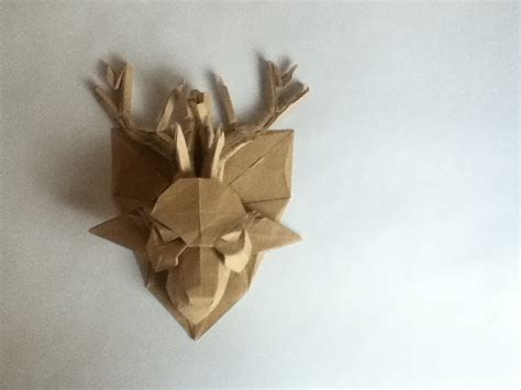 How To Make A Deer Out Of Paper - origami deer andrey ermakov