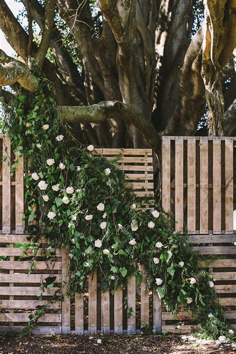 Wedding Backdrop Stand Australia by Botanical Australian Barn Wedding Ruffled