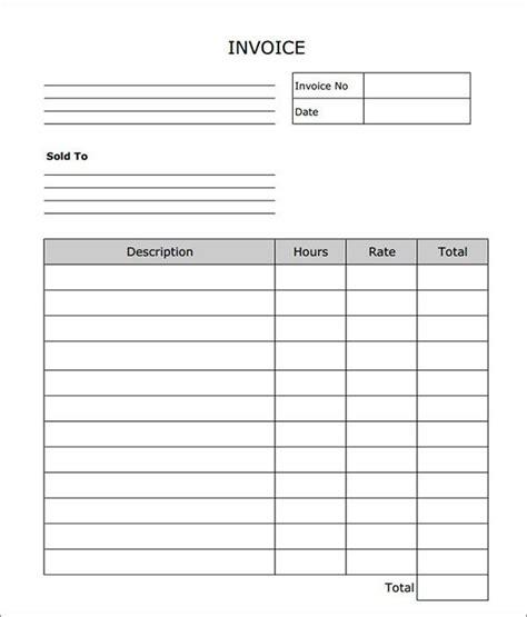 labor invoice template invoice pinterest invoice template