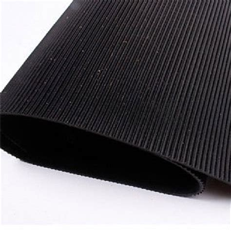 Matting Rubber Corrugated by Corrugated Rubber Sheet Matting Buy Ribbed Rubber