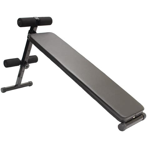 stomach bench sit up ab bench for stomach ab abs workout folding situp board home gym exercise ebay