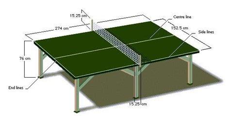 Meja Billiard Standar Internasional ukuran lapangan tenis meja standar multi info