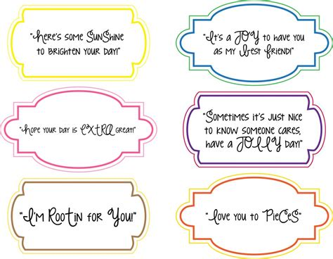 gram card template note printables for random acts of kindness day