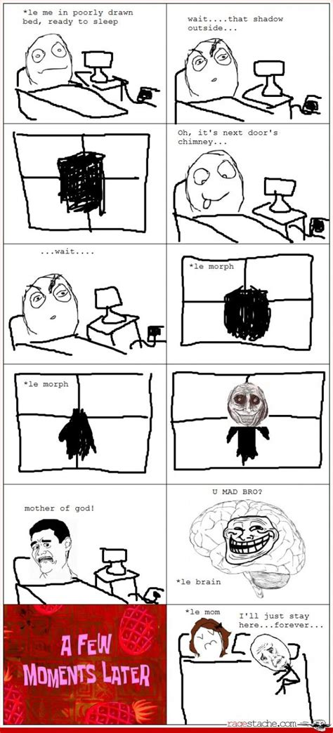 Rage Comic Memes - scary guy outside humour cute other stuff