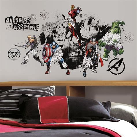 room decals new assemble black white wall decals