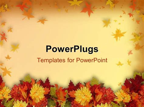 powerpoint themes thanksgiving powerpoint template halloween and thanksgiving theme with