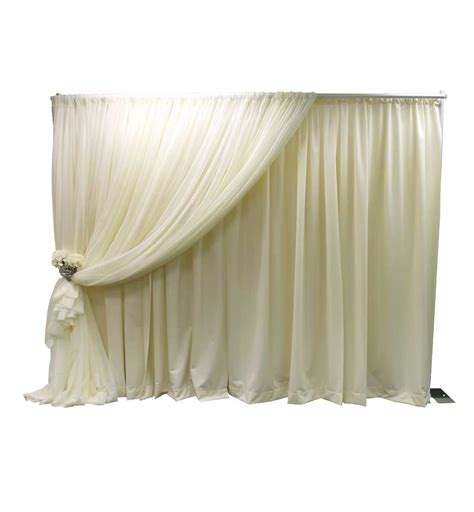 pipe and drape kit 7 in 1 designer kit wedding and event equipment pipe and