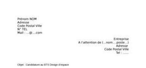 Lettre De Motivation Design D Espace Lettre De Motivation Bts Viticulture 蜩nologie