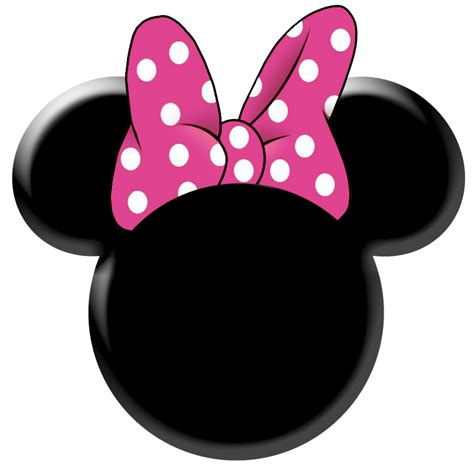 minnie mouse free bow printables clipart best