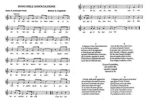 inno albanese testo canti cuore eucaristico