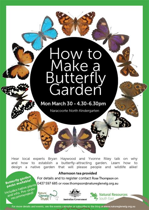 How To Make A Butterfly Garden by Nature Glenelg Trust Make A Butterfly Garden March30