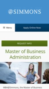 Simmons Mba Reviews by Mba Student Recruitment Simmons College 10 Email