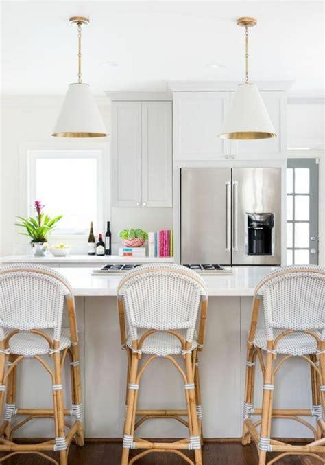 chaises de cuisine modernes chaises cuisine blanches maison design wiblia