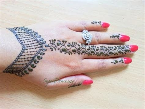 tutorial gambar henna full download gambar tato di tangan