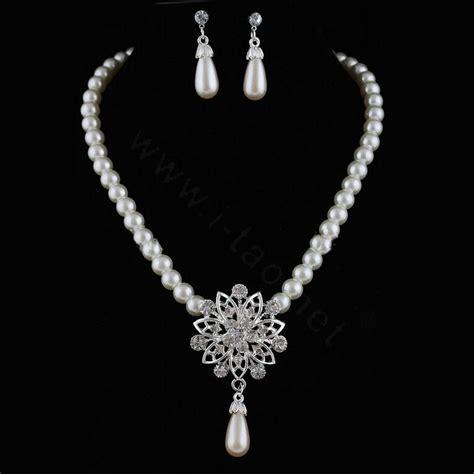 schlichter brautschmuck simple wedding jewelry sets www imgkid the image
