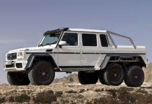 Mercedes G 6x6 2013 Mercedes G 63 Amg 6x6 W463 Specifications Images