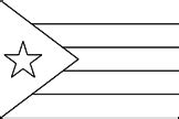 Lil Fingers Coloring Flags Coloring Pages Cuban Flag Coloring Page