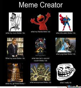 Creation Memes - the silence in between of what i thought and what i said