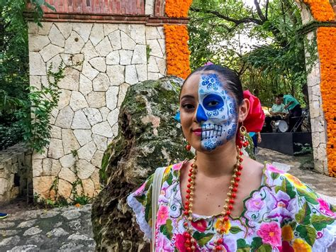 day of the dead celebrating day of the dead festival at xcaret in mexico