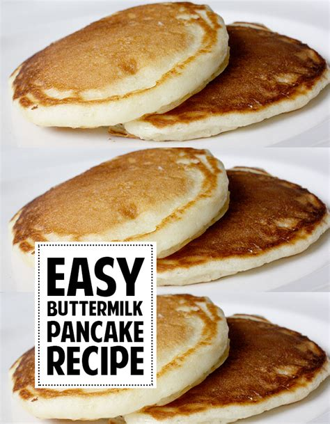 the easiest buttermilk pancakes andrea s notebook