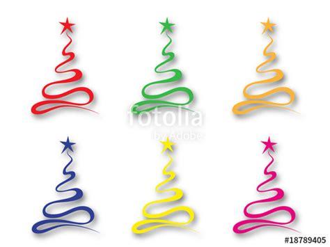 clipart albero di natale quot alberi di natale colorati quot immagini e vettoriali royalty