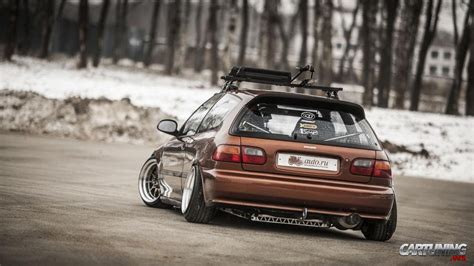stanced honda stanced honda civic eg 187 cartuning best car tuning
