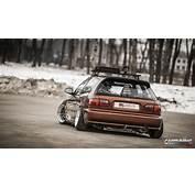Stanced Honda Civic EG &187 CarTuning  Best Car Tuning