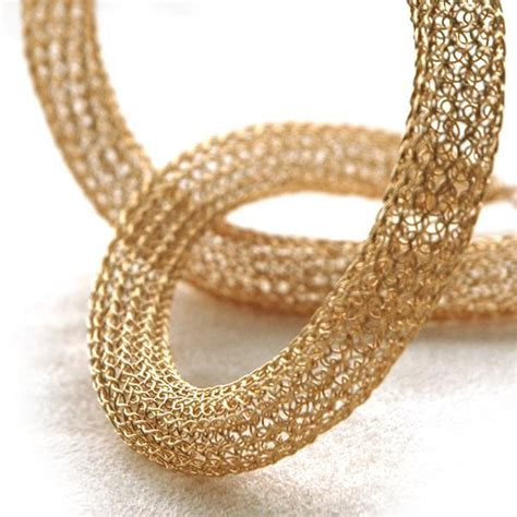 how to make wire crochet jewelry you to see yoolatube wire crochet necklace on