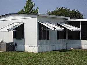 mobile home window awnings fully adjustable aluminum awnings haggetts aluminum