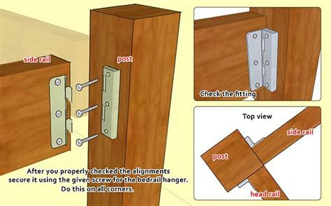 how to make bed frames build a wooden bed frame wikihow diy i need to try