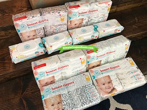 printable honest diaper coupons expired bogo honest diapers 4 per pack free shipping