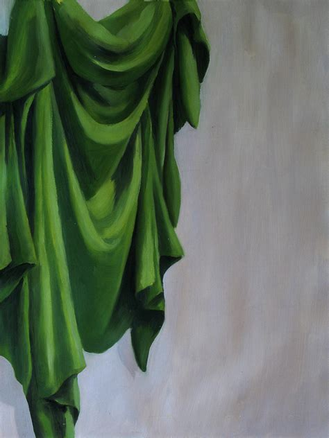 drapery painting green drapery by arkanthor on deviantart