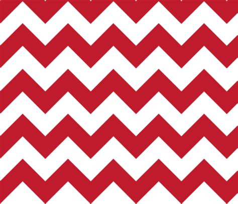 red chevron fabric gates_and_gables spoonflower